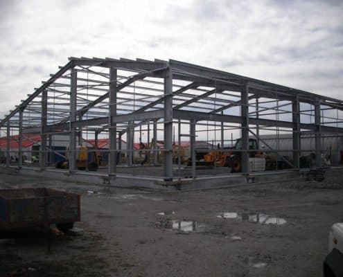 Purlins rails and fabcrications