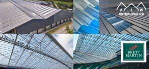 Brett Martin GRP Rooflights from AJW Distribution