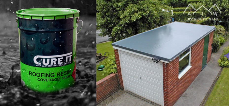 Cure It GRP Waterproofing System from AJW