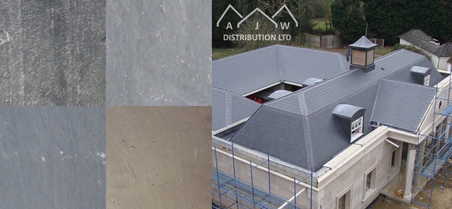 Natural Slate roofing products from AJW Distribution