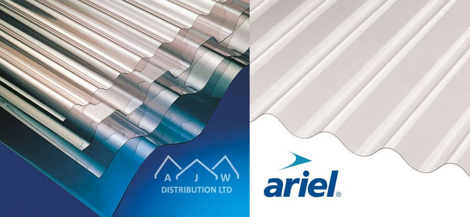 PVC Rooflight sheeting from AJW Distribution
