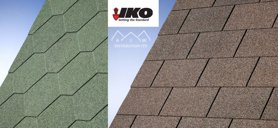 IKO Roofing Felt Shingles from AJW