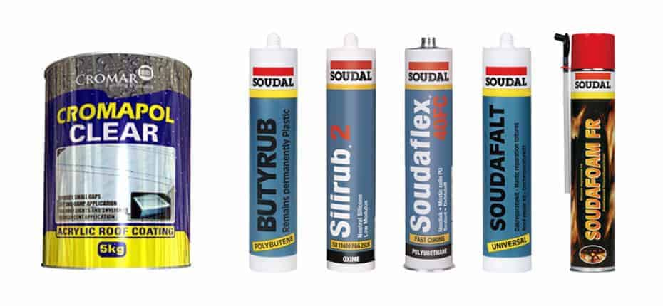 Roofing sealants and solutions from AJW