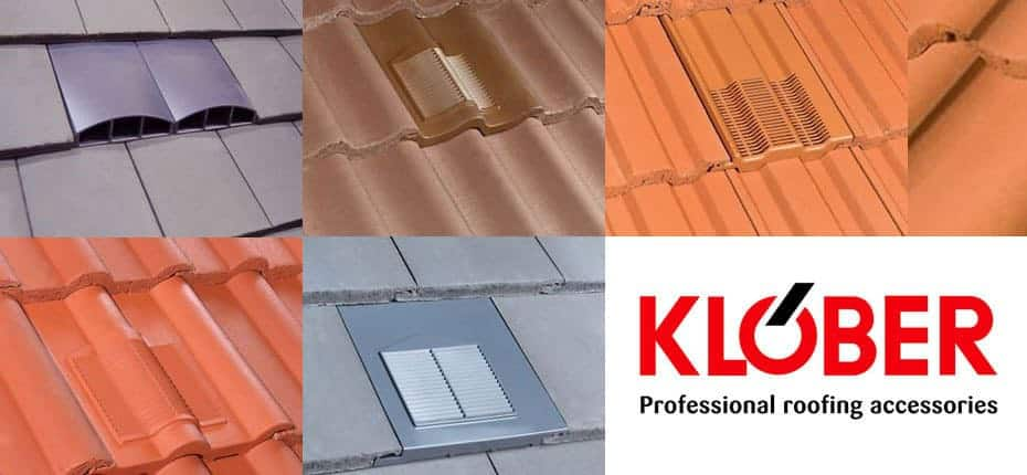 Klober Tile Vents from AJW