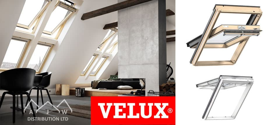 Velux Roof Windows from AJW Distribution