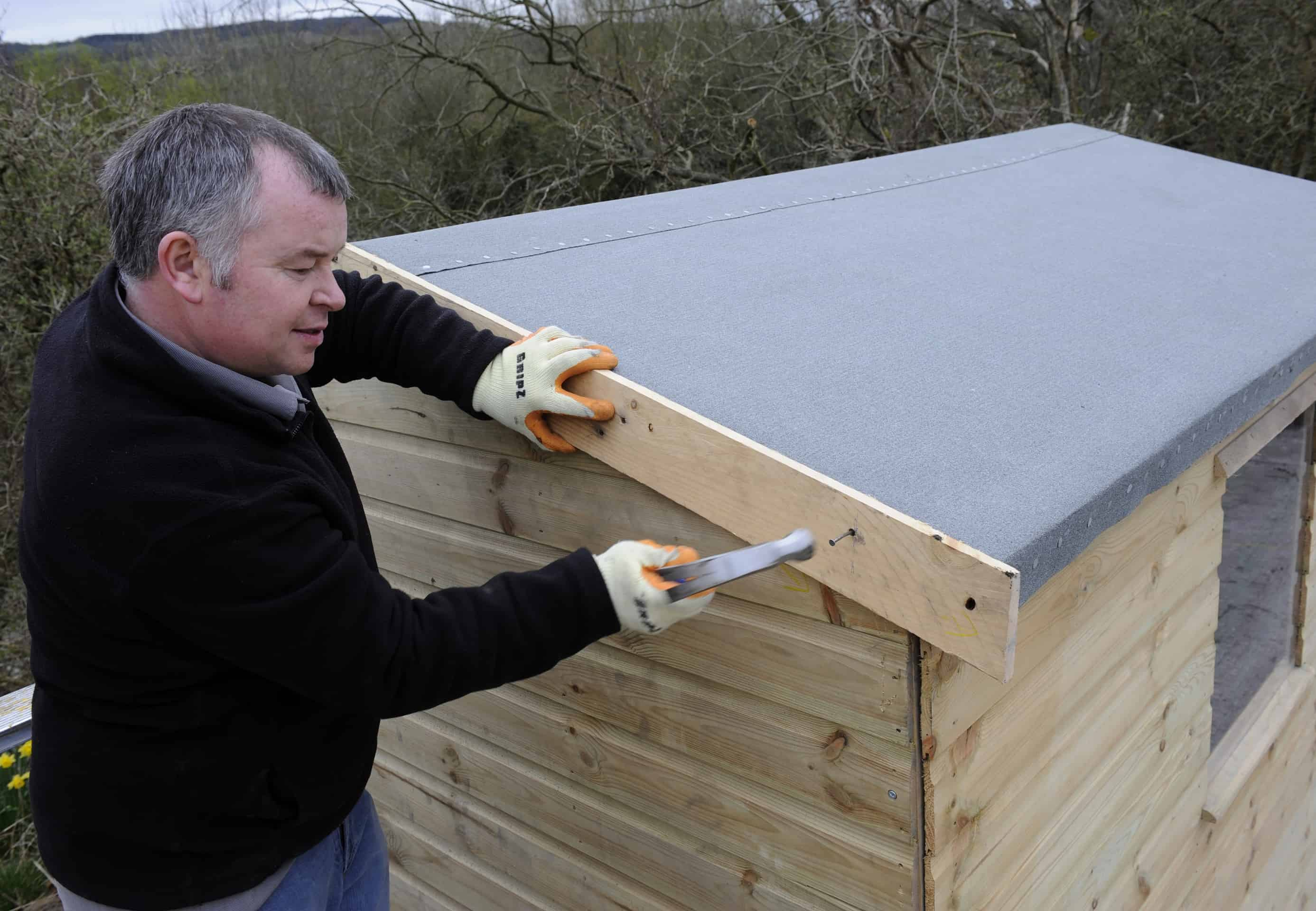 How To Reroof A Shed Shed Roofing Felt Gudie From Iko