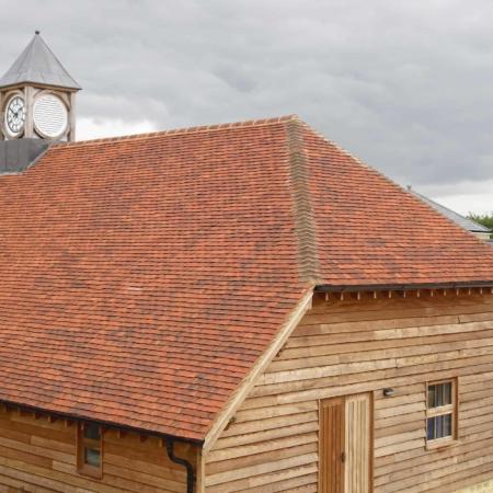Handmade Ashbury Multi Clay Plain Tile Ajw Distribution