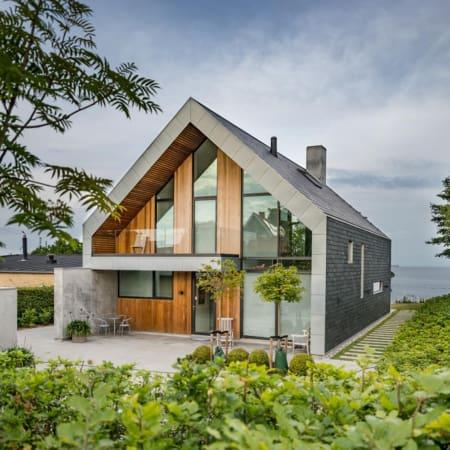 Natural slate roof