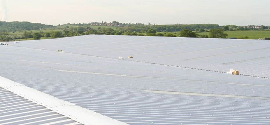 Galvanised sheet roofing materials from AJW