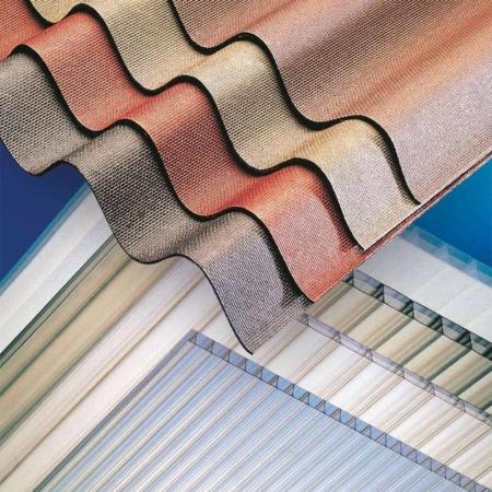 Bitumen PVC and Polycarbonate Sheeting