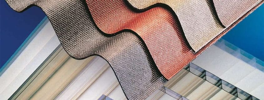 Bitumen and Polycarbonate Sheeting from AJW Distribution