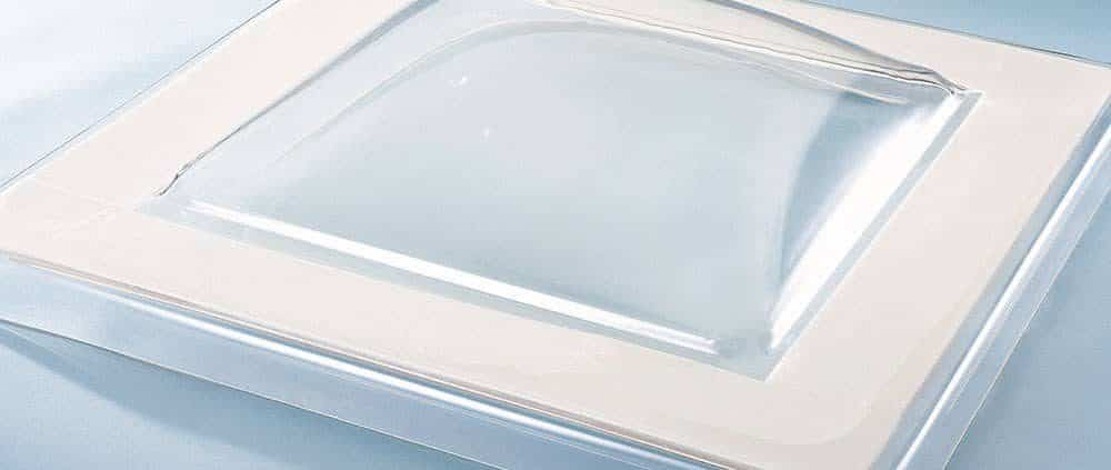 Dome rooflights from AJW Distribution