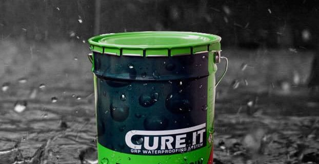 Cure It GRP Waterproofing system from AJW Distribution