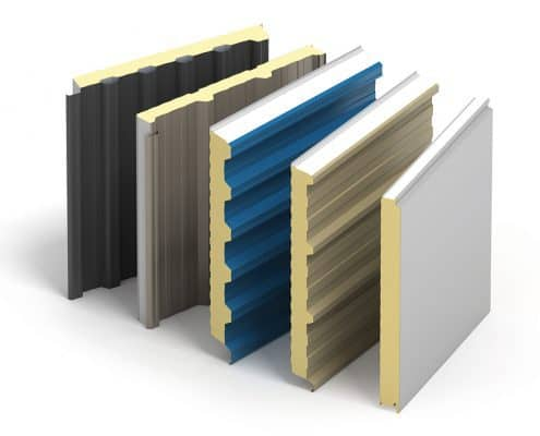 Kingspan composite insulated wall panels