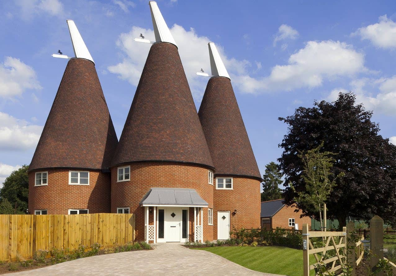 Oast House In East Malling Kent Ajw Distribution