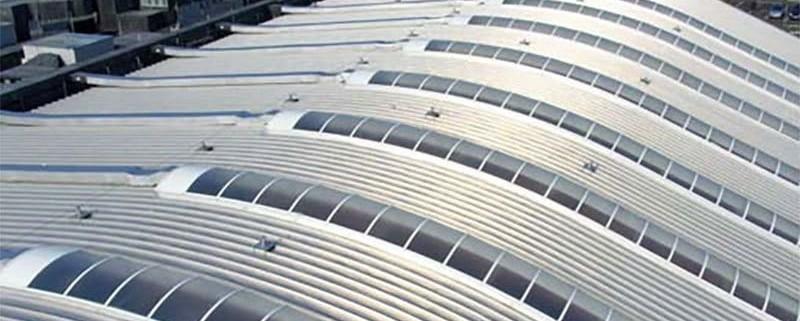 Brett Martin Barrel Vault Roof Lights