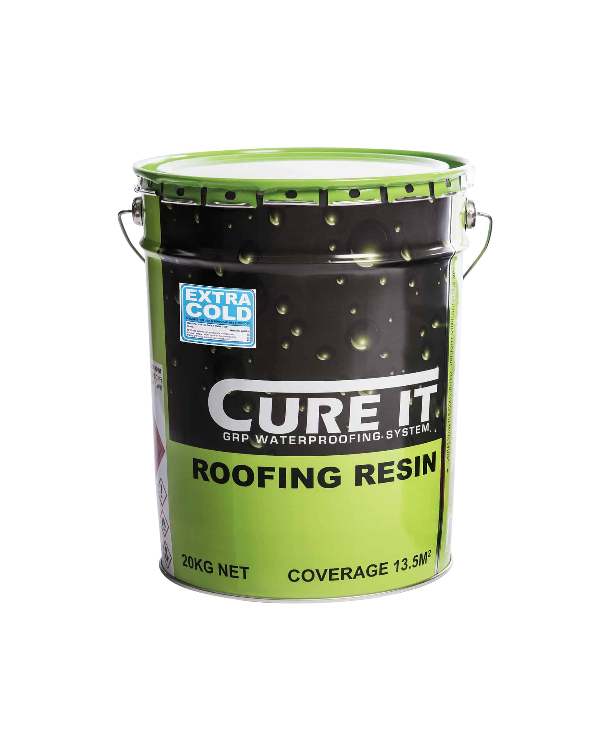 Cure It Extra Cold Roofing Resin Ajw Distribution