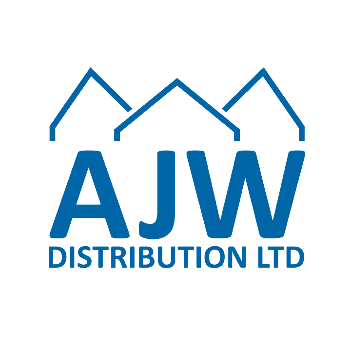 AJW Logo - blue on white background square