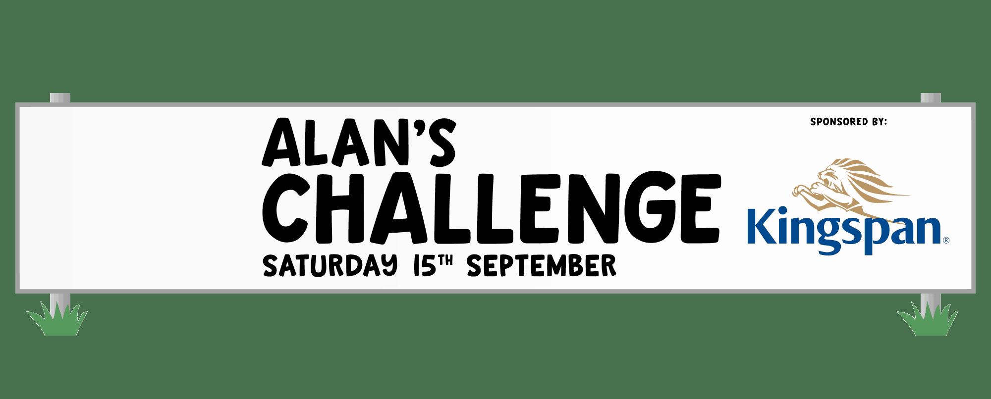 Alans Challenge Sponsored by Kingspan Logo
