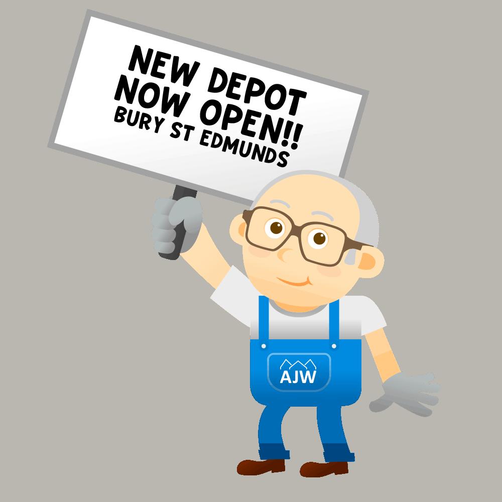 AJW Bury Depot Now Open