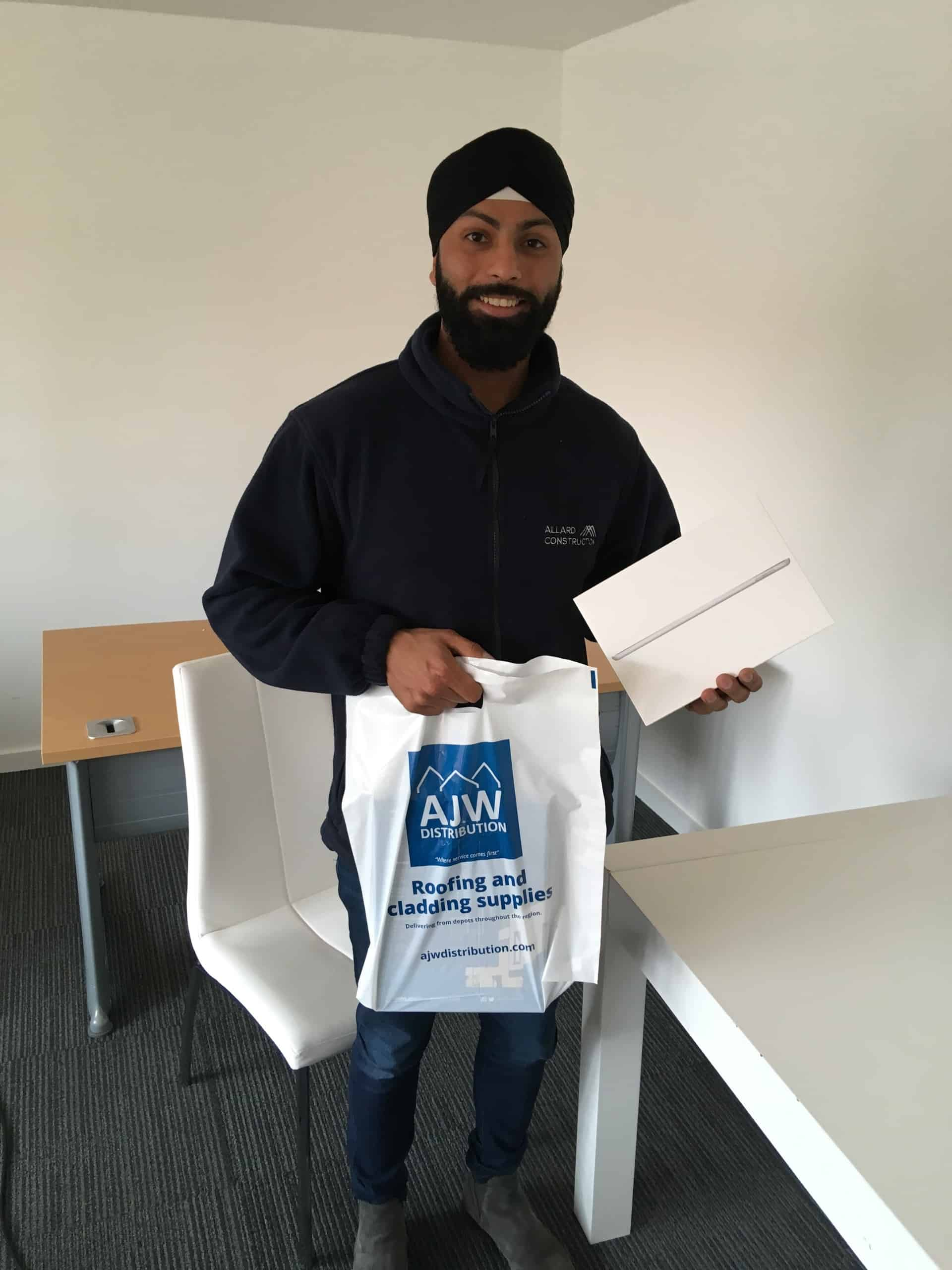 Gurpreet Singh from Allard Construction